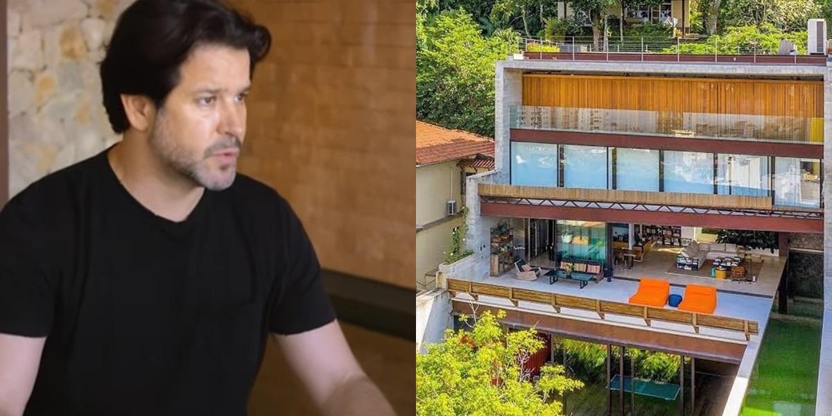 Conheça a incrível e grandiosa casa de Murilo Benício (Foto: reprodução/GNT)