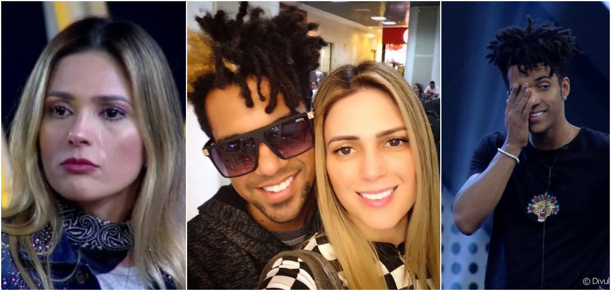 Nadja Pessoa e D'Black terminaram o casamento (Foto: Divulgação / TV Foco)