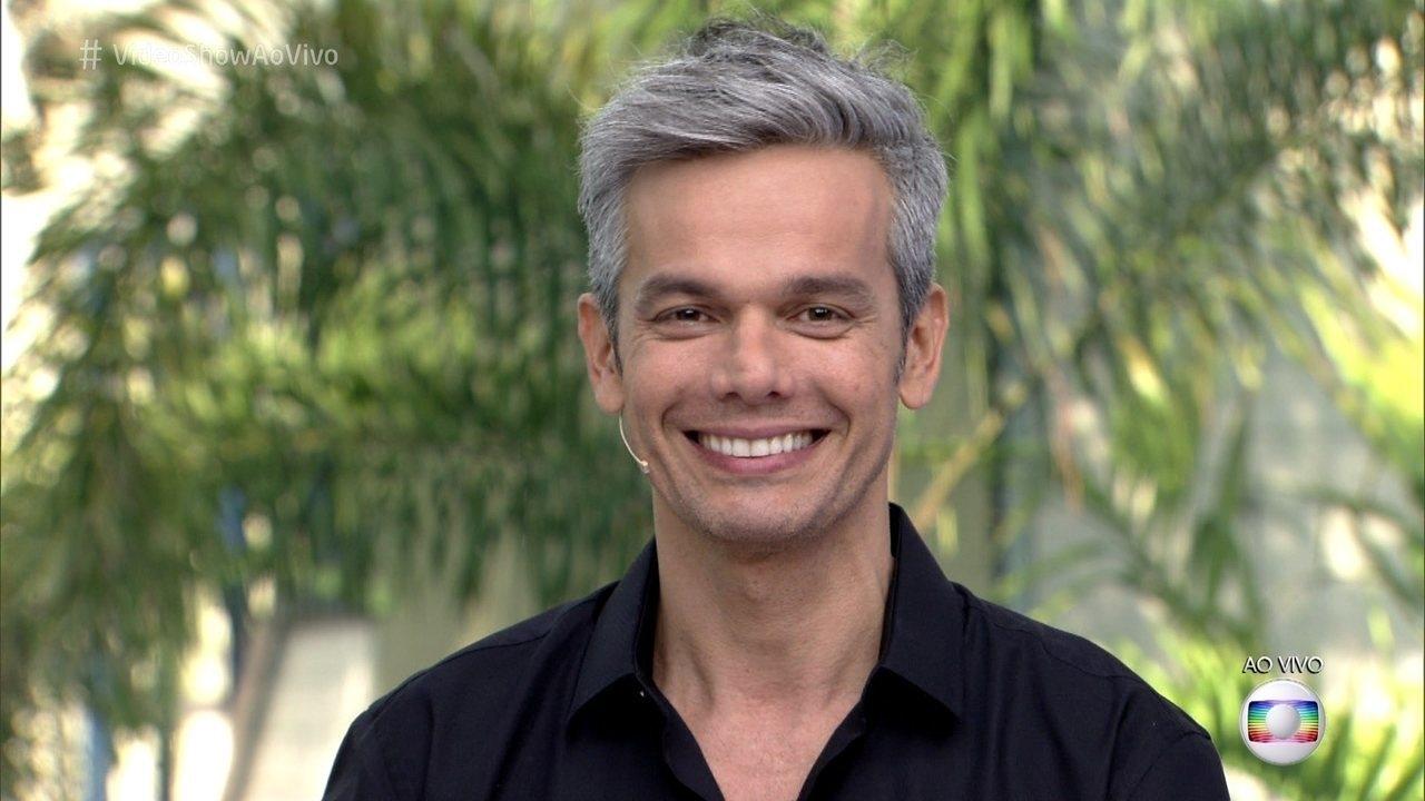 O grisalho comandou o 'Vídeo Show' durante anos (Foto: reprodução/Globo)