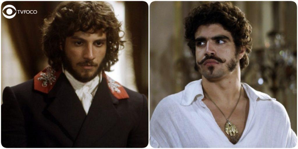 Pedro e Joaquim vão se desentender em Novo Mundo