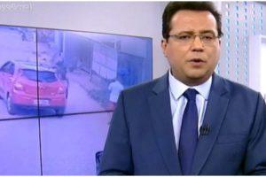 O apresentador Geraldo Luís causou ao lado de vários famosos em uma van (Foto: Reprodução)