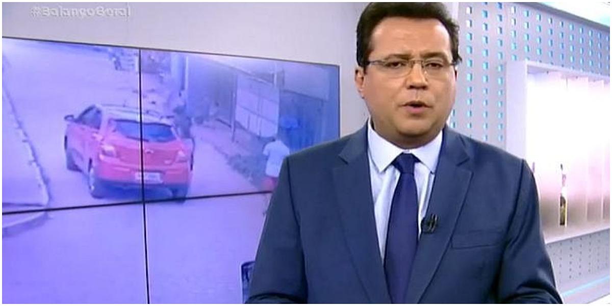 Geraldo Luís pode trocar a Record pelo SBT (Foto: reprodução)