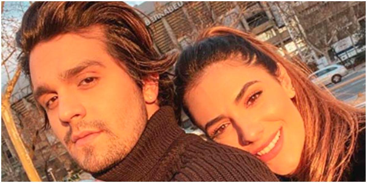 Luan Santana e Jade Magalhães estão morando juntos em plena quarentena (Foto: Reprodução/ Instagram)