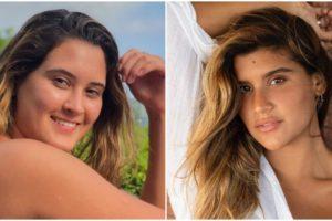 Bia Bonemer e Giulia Costa estão cada vez mais próximas (Foto: Reprodução)