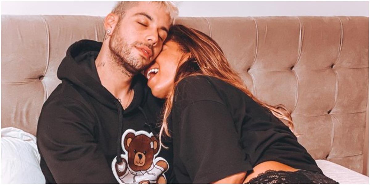 Anitta e o namorado bonitão, Gui Araújo (Foto: Reprodução)