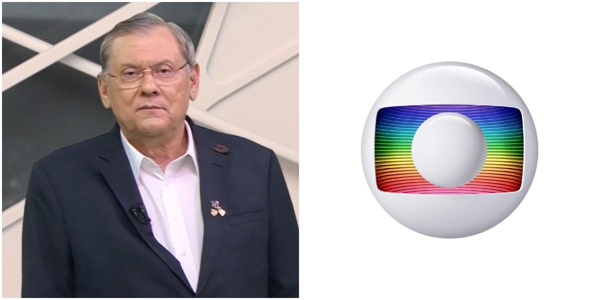 Milton Neves notou erro grave de jornal da Globo e não perdoou (Foto: Reprodução)