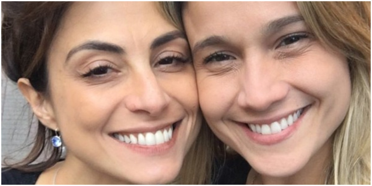Fernanda Gentil e Priscila Montandon são casadas (Foto: Reprodução)