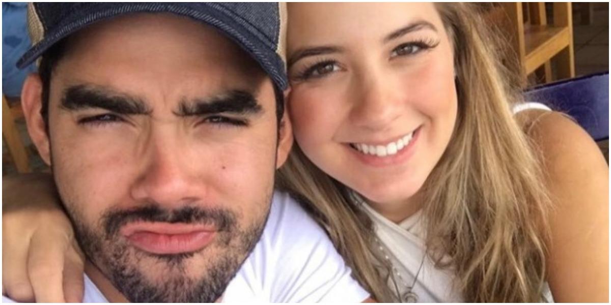Gabriel Diniz e Karoline Calheiros formaram um casal (Foto: Reprodução)