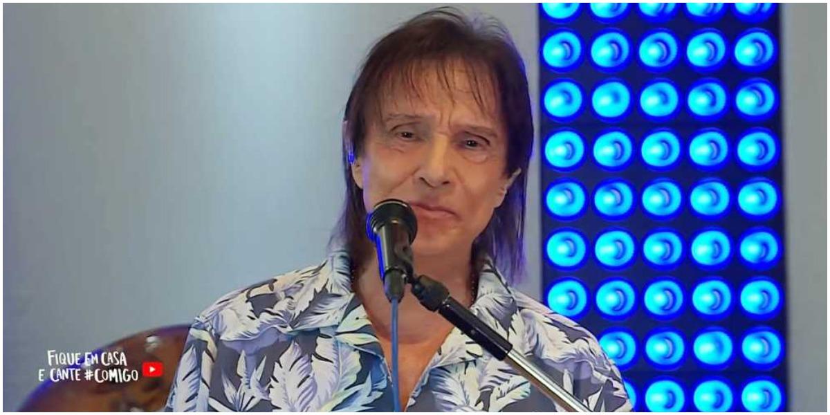 Cantora casada se declara para Roberto Carlos (Foto: Reprodução)