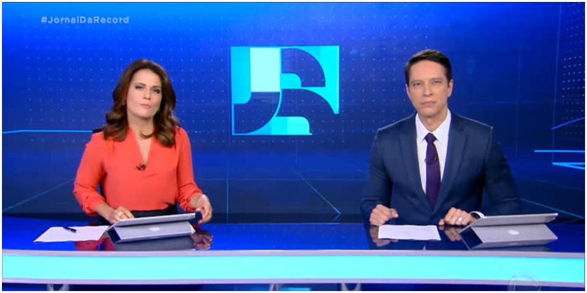 Jornal da Record (Foto: Reprodução)