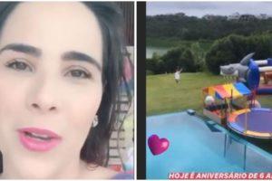 Wanessa Camargo promove festa em Mansão (Foto: Reprodução)