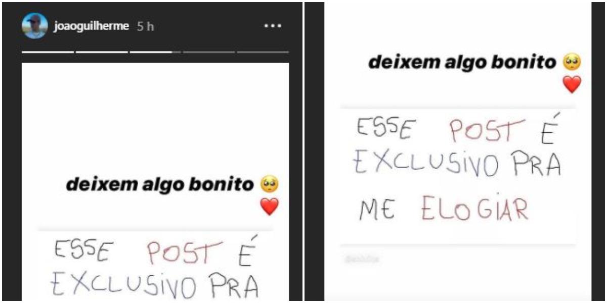 João Guilherme (Foto: Reprodução)
