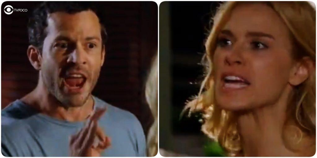 Quinzé e Teodora brigam mais uma vez em Fina Estampa
