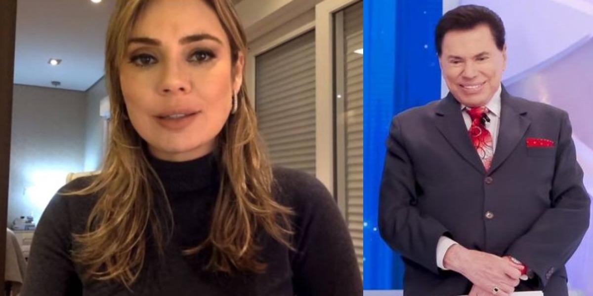 Rachel Sheherazade pode não trabalhar mais na emissora de Silvio Santos (Foto: Reprodução/YouTube/SBT)