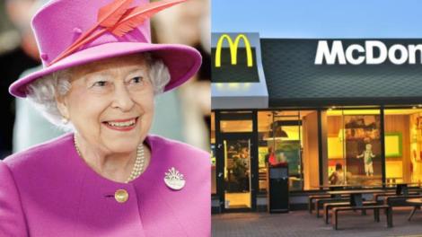 Rainha Elizabeth II tem sua própria filial do McDonald's (Foto: Reprodução)