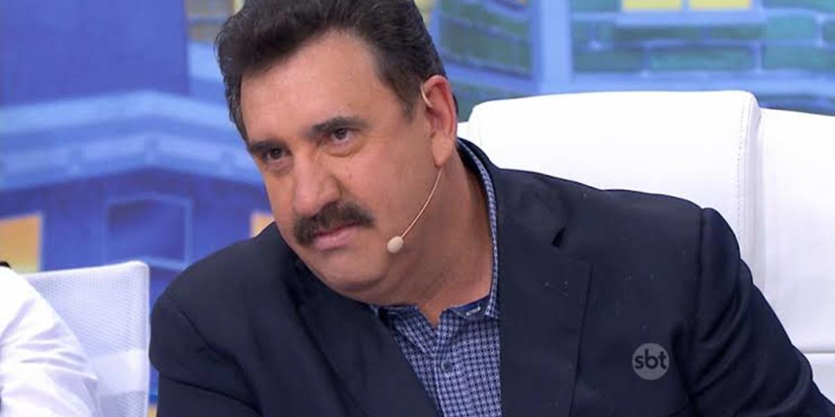 Ratinho no comando de seu programa no SBT; atração foi a menos assistida do horário nobre do canal (Foto: Reprodução/SBT)