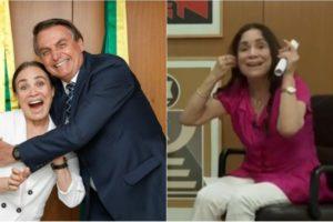 Regina Duarte é processada após entrevista polêmica (Foto: Montagem)