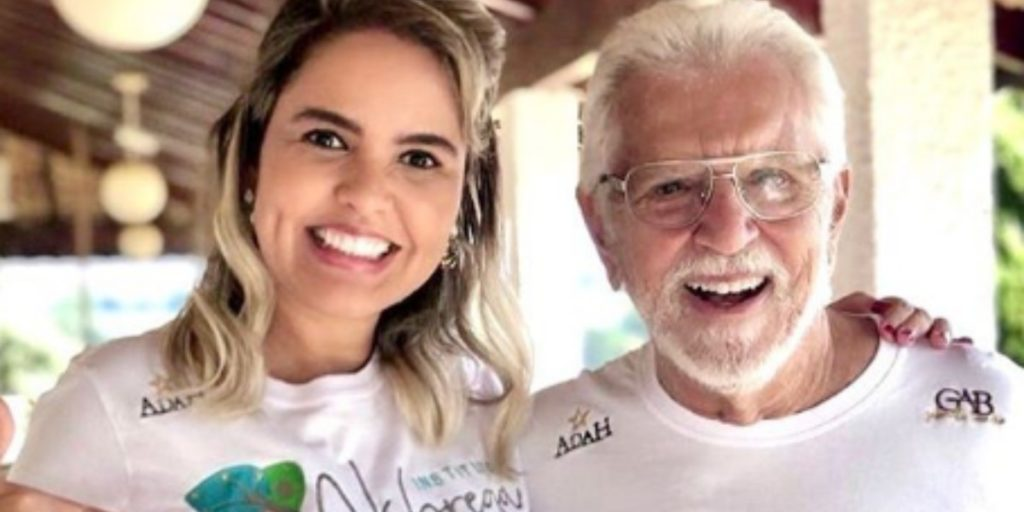 Renata Domingues e Carlos Alberto de Nóbrega abriram instituto (Foto: Reprodução/Instagram)