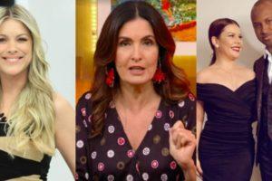 Renata Fan, Fátima Bernardes, Fernanda Souza e Thiaguinho tiveram os seus futuros revelados (Foto: Reprodução/Band/TV Globo/Instagram)