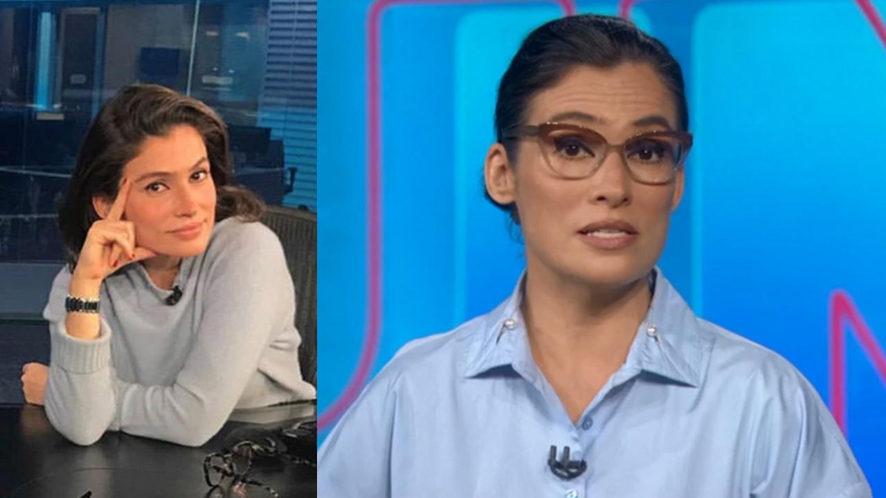 Renata Vasconcellos no Jornal Nacional (Foto: Reprodução/TV Globo)