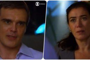 René e Griselda tem conversa reveladora em Fina Estampa