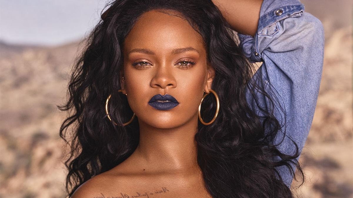 Rihanna rouba à cena e para tudo após compartilhar cliques de lingerie (Foto: Reprodução)