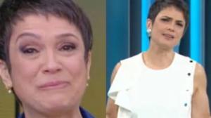 Sandra Annemberg pede desculpas no Globo Repórter (Foto: Reprodução)