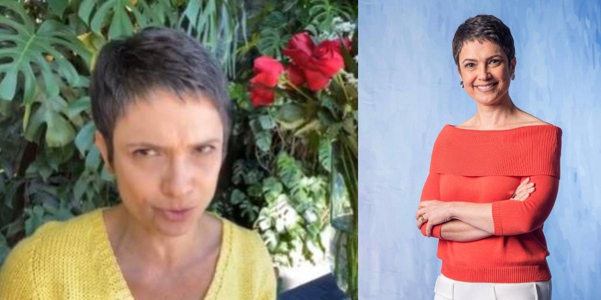 Sandra Annenberg tratou de assuntos polêmicos antes da Globo (Foto: Reprodução/Instagram)