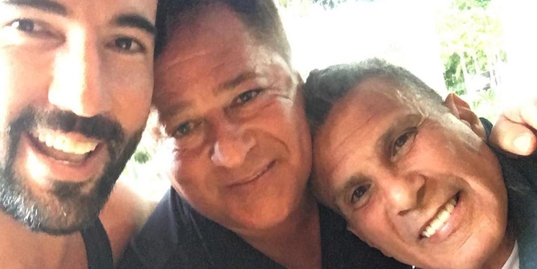 Sandro Pedroso, Leonardo e Eri Johnson (Foto: Reprodução/Instagram)