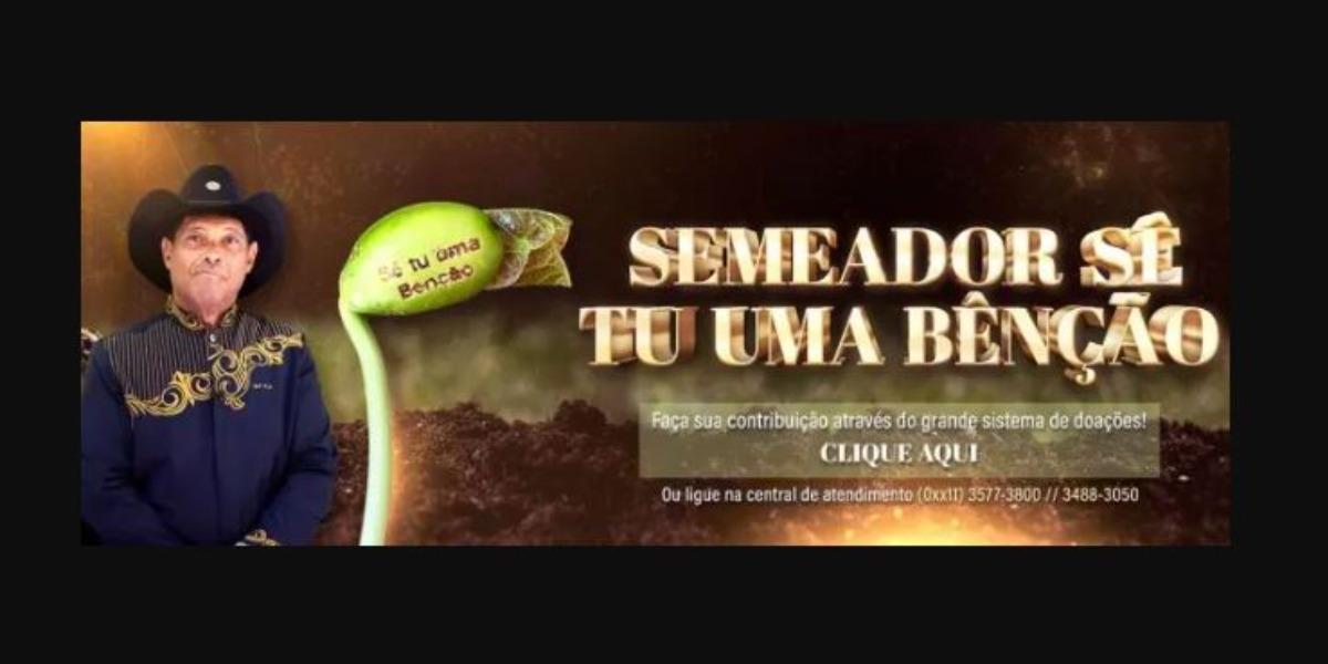 Valdemiro Santiago é dono da Igreja Mundial do Poder de Deus (Foto: Reprodução)