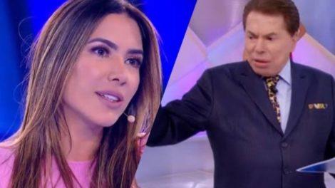 Silvio Santos bate o martelo e troca Topa ou não Topa por Máquina da Fama, ambos de Patrícia Abravanel no SBT (Montagem: TV Foco)