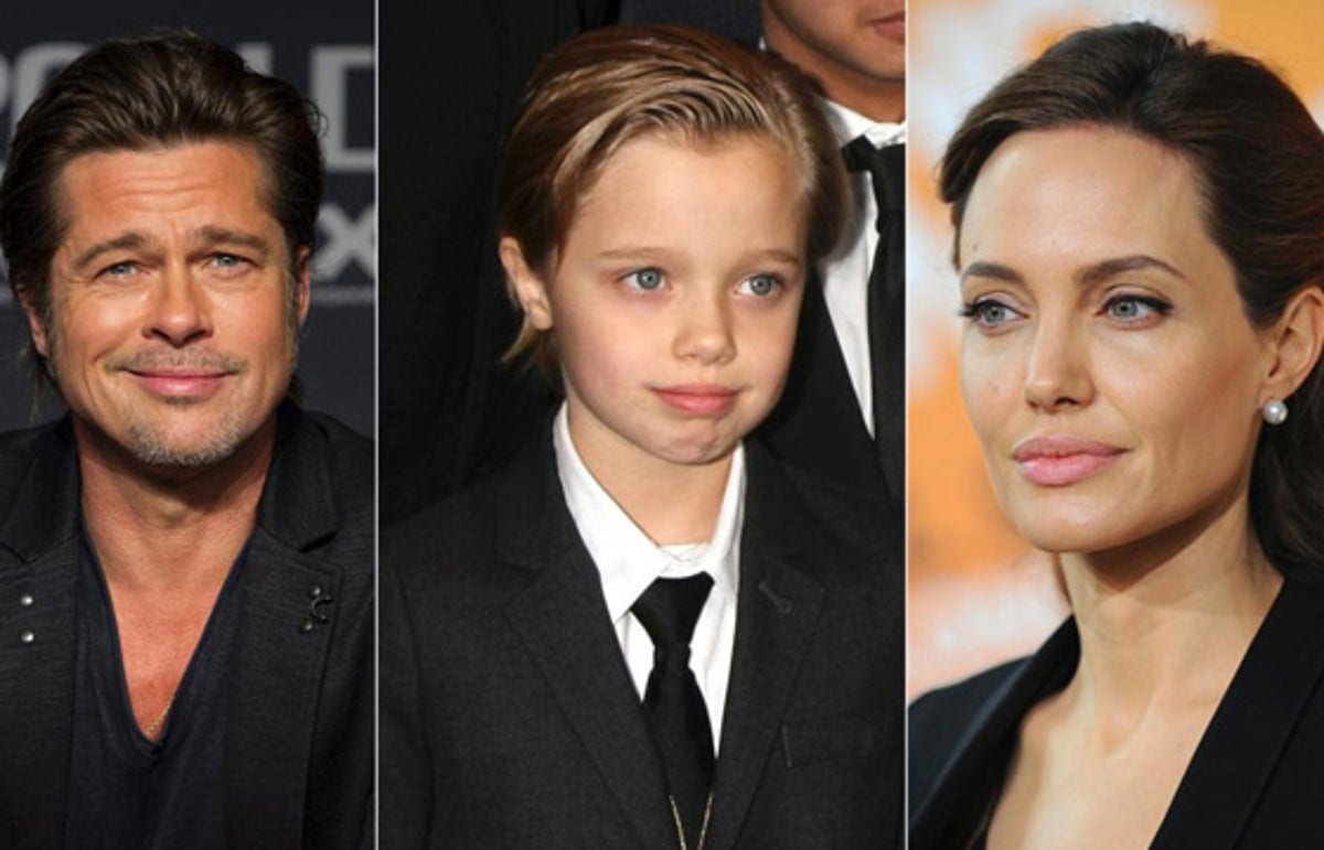 Shiloh, filho de Angelina Jolie e Brad Pitt, passará por mudança de gênero (Foto: Reprodução)