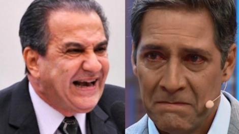 Silas Malafaia critica demissão de Lacombe (Foto: Montagem)