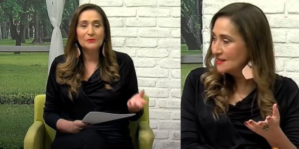 Sonia Abrão no A Tarde é Sua (Foto: Reprodução/RedeTV!)