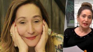 A apresentadora Sonia Abrão do programa A Tarde é Sua da RedeTV (Foto montagem)