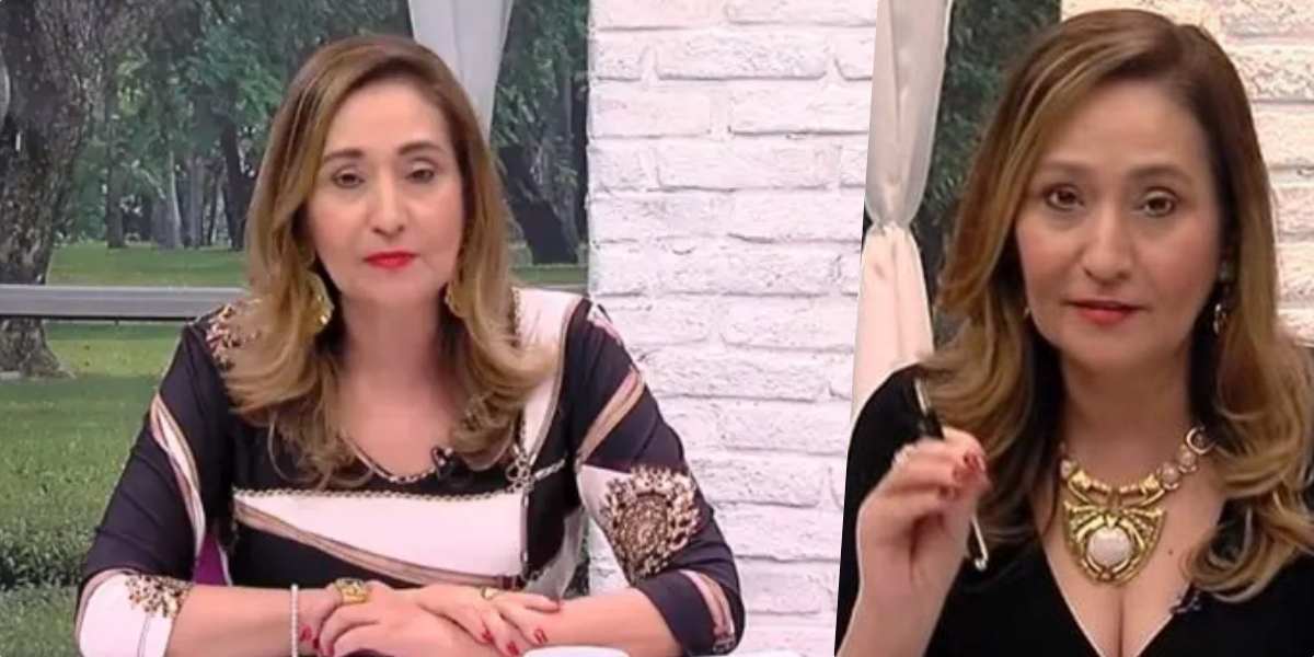 Sonia Abrão, comanda o A Tarde é Sua na RedeTV (Foto montagem)