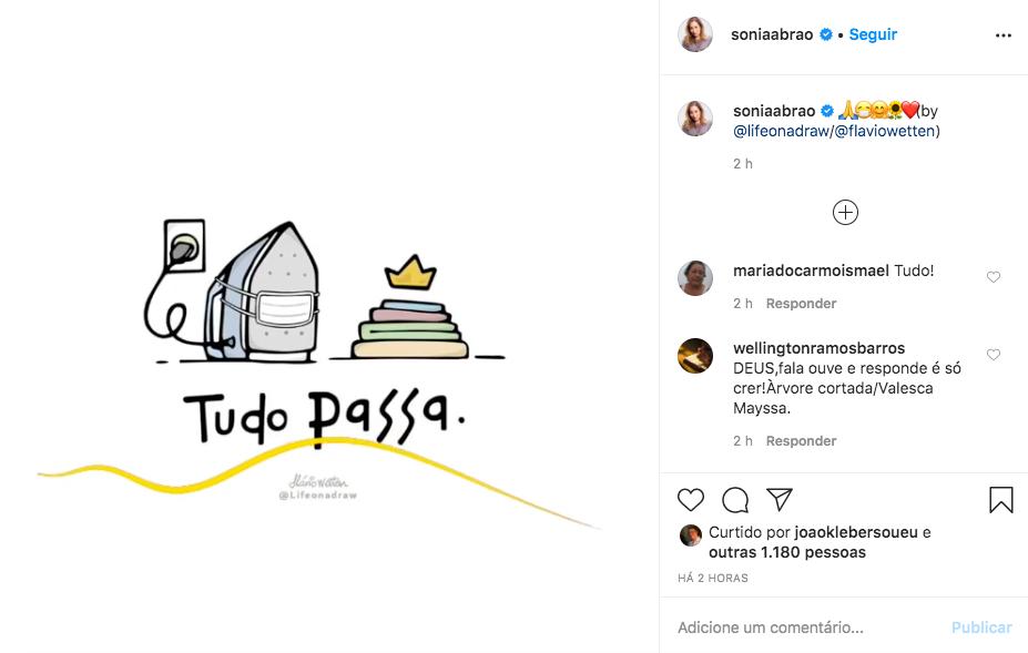 A famosa apresentadora do A Tarde É Sua, da RedeTV!, Sonia Abrão deixou os seus seguidores preocupados após fazer anúncio (Foto: Reprodução/Instagram)