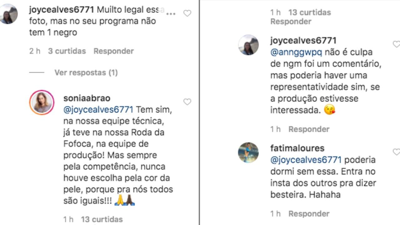 Sonia Abrão respondeu internauta (Foto: Reprodução/Instagram)