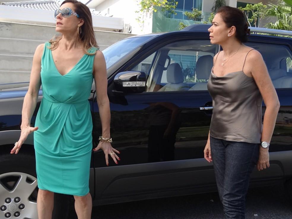 Nova briga entre Tereza Cristina e Giselda - Foto: Reprodução