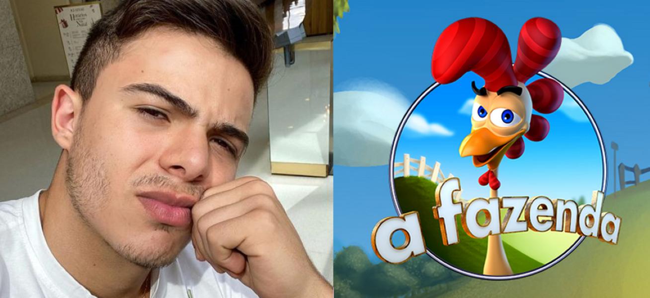 Thomaz Costa desiste de entrar em A Fazenda (Foto: Reprodução)