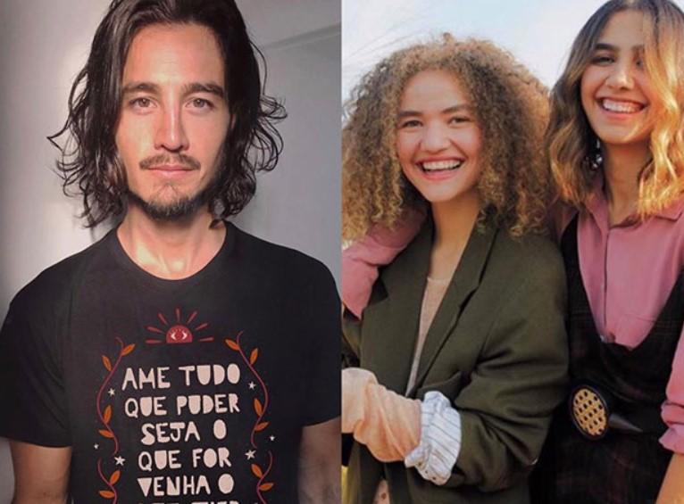 Tiago Iorc está em briga com as cantoras Anavitória - Foto: Montagem