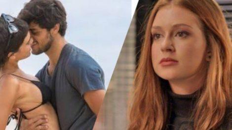 Totalmente Demais, Jonatas esquece Eliza e se entrega de vez para Leila (Montagem: TV Foco)