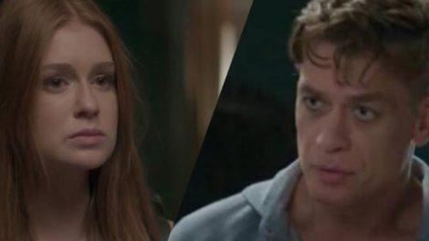 Totalmente Demais, Eliza vai ouvir passado podre de Arthur e vai decidir sair de casa (Montagem: TV Foco)