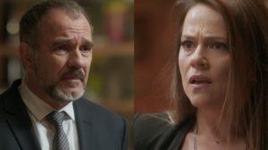 Germano (Humberto Martins) confessará podre do passado e deixará Lili (Vivianne Pasmanter) chocada em Totalmente Demais (Foto: Divulgação/Globo)
