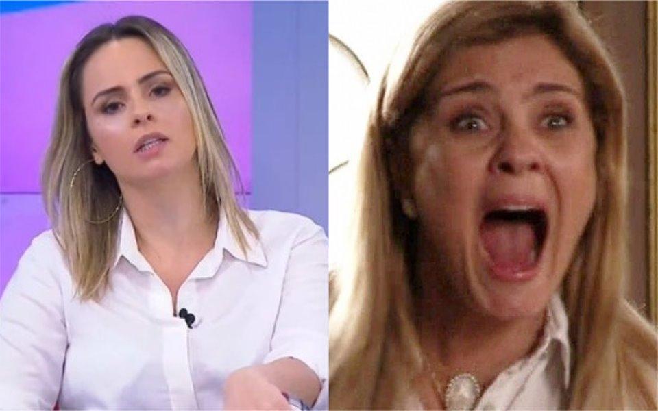 Triturando no SBT reprisa novela da Globo (Foto: Reprodução)