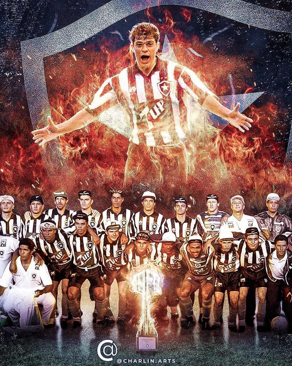 Sem ter sido convidado pela Globo, Túlio Maravilha repercutiu final com vitória do Botafogo nas redes sociais (Reprodução)