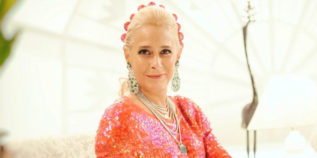 Andrea Beltrão interpreta Hebe Camargo em nova série. (Foto: Divulgação)