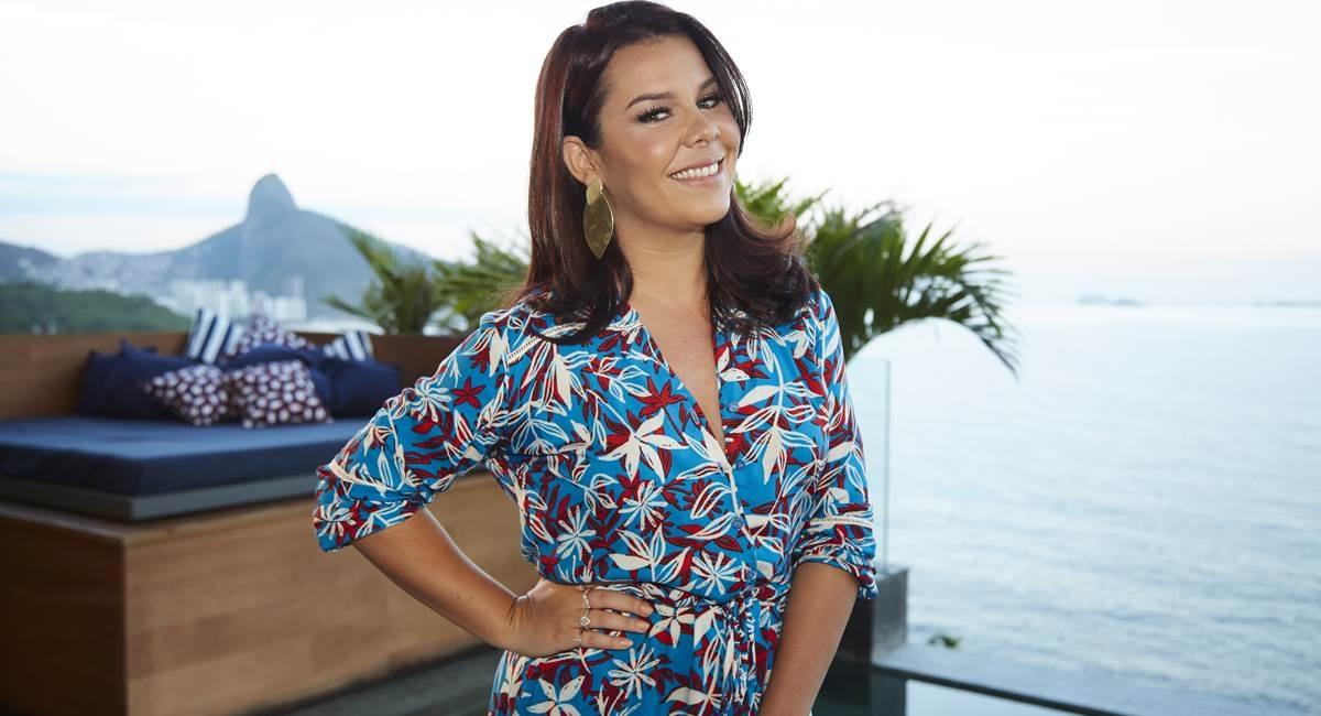 Fernanda Souza apresentou o 'Vai Fernandinha' (Foto: reprodução)