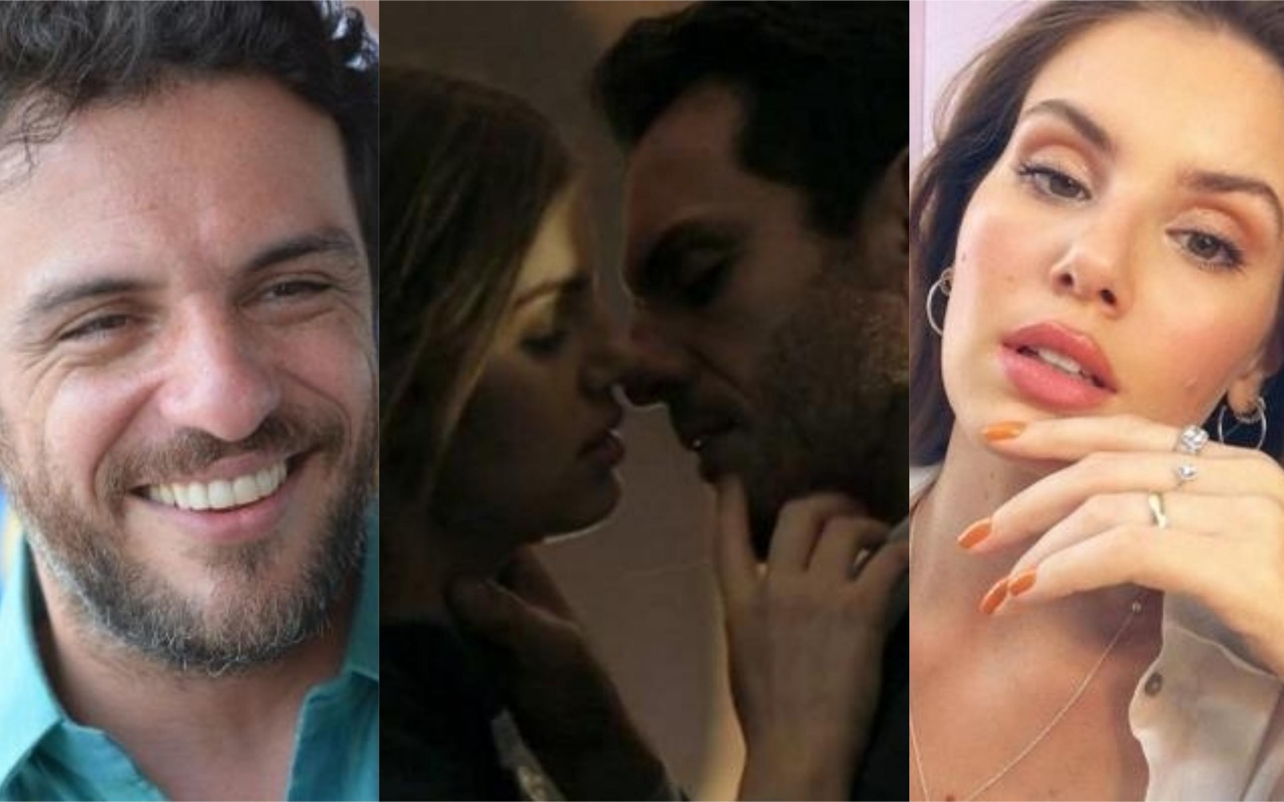Rodrigo Lombardi e Camila Queiroz bombaram em Verdades Secretas (Foto: Divulgação)