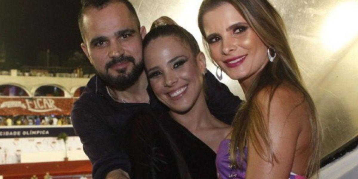 Wanessa Camargo, Luciano e Flávia Camargo (Foto: Reprodução)